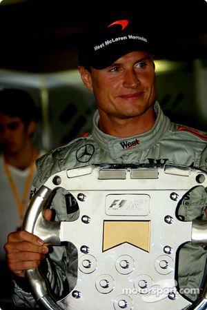 Trophée spécial pour David Coulthard