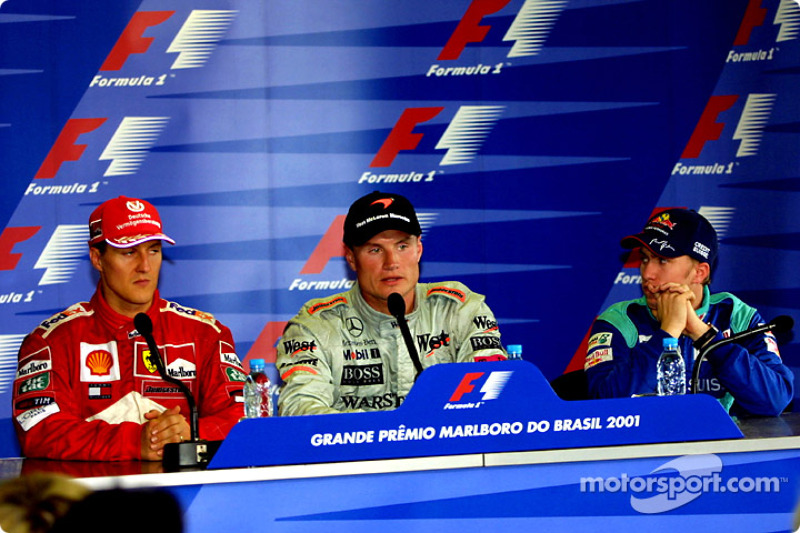 Conferencia de prensa: Michael Schumacher, David Coulthard y Nick Heidfeld