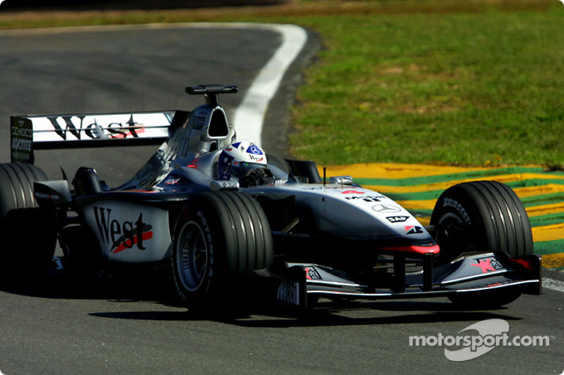 2001 : David Coulthard, McLaren-Mercedes MP4-16