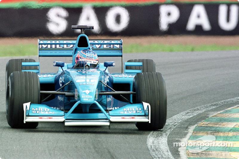 Jenson Button en el GP de Brasil