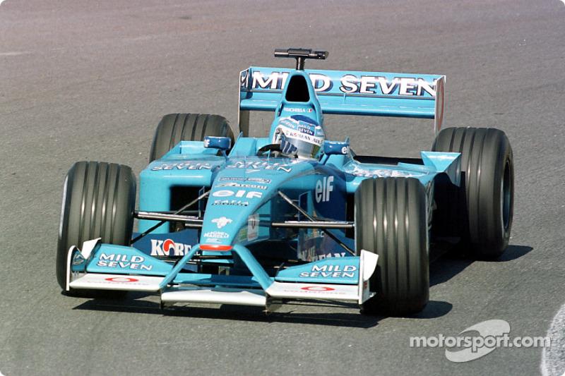 Giancarlo Fisichella en el GP de Brasil