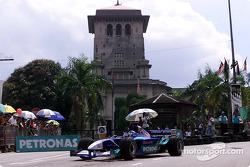 Equipo Sauber Petronas en Johor Bahru