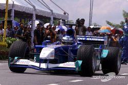 Sauber Petronas team Johor Bahru