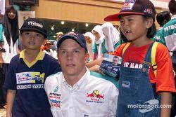 Команда Sauber Petronas в Джохор-Бару: Кими Райкконен