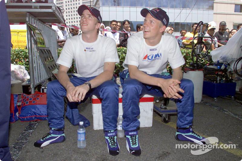 Diaporama : Kimi Räikkönen chez Sauber en 2001
