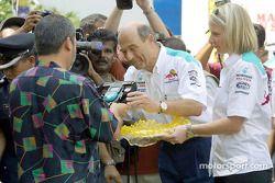 Tournoi de bowling Sauber Petronas : Peter Sauber