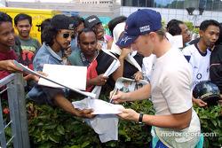 Equipo Sauber Petronas en Johor Bahru: Nick Heidfeld