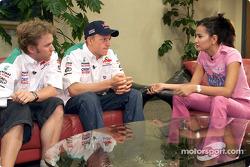 Entrevista con Nick Heidfeld y Kimi Raikkonen