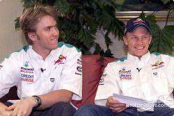 Interview avec Nick Heidfeld et Kimi Räikkönen