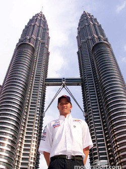 Nick Heidfeld frnte a las Torres Petronas