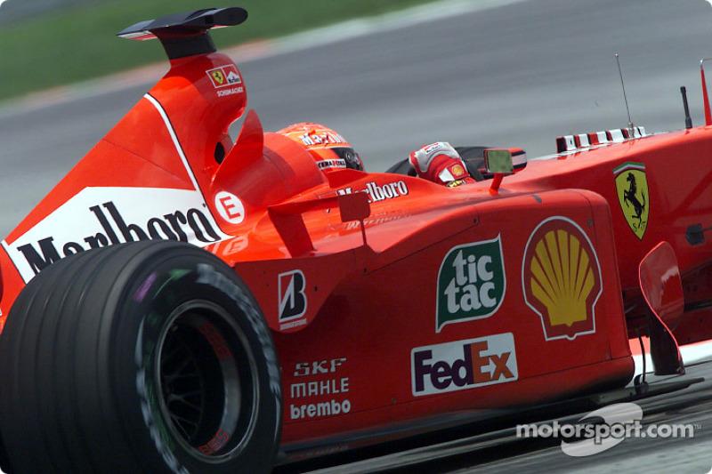 34. Malasia 2000, Ferrari F2001