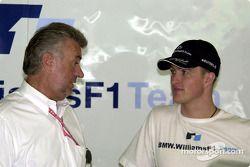 Willy Webber y Ralf Schumacher