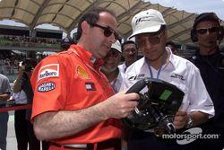 A Ferrari guest