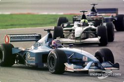 Jenson Button durante la primera vuelta