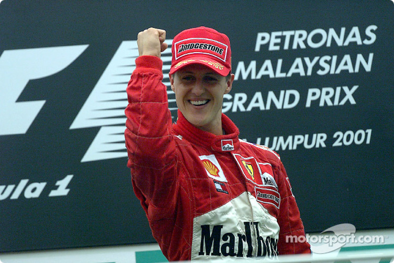 2001 Malezya GP - Ferrari F2001