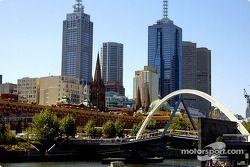 Vista de la ciudad de Melbourne