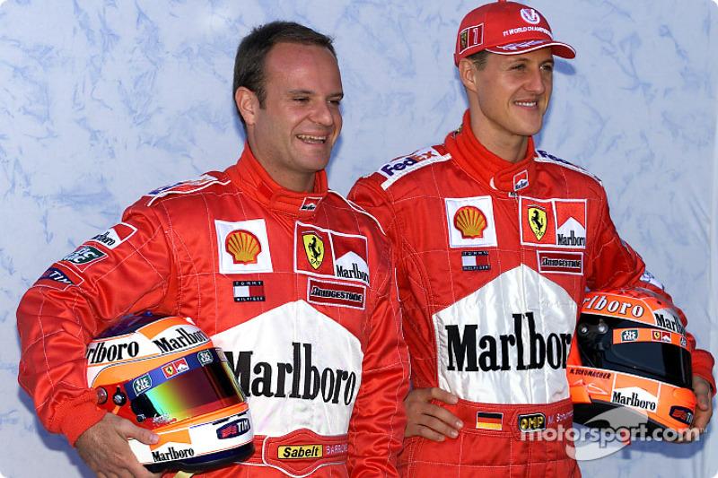 Conferencia de prensa: Rubens Barrichello y Michael Schumacher