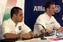 Conferencia de prensa: Juan Pablo Montoya y Ralf Schumacher