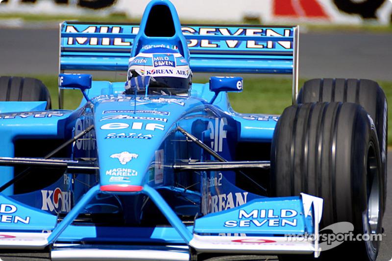 Giancarlo Fisichella en el GP de Australia