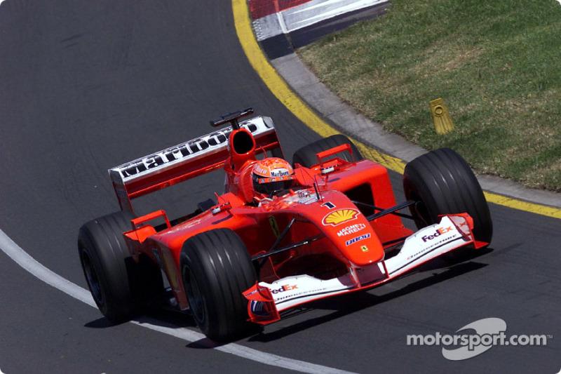 2001: Michael Schumacher, Ferrari F2001