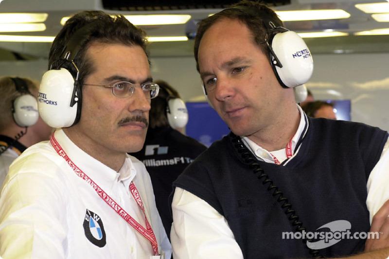 Mario Thiessen and Gerhard Berger