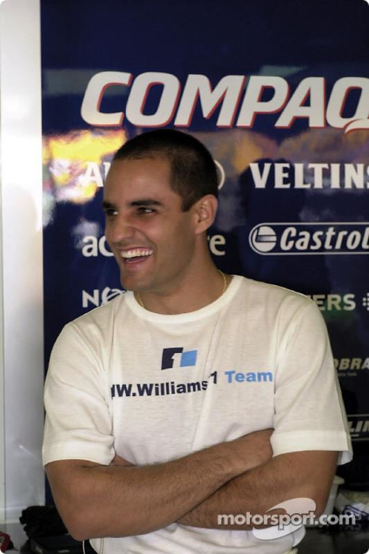 F1 rookie Juan Pablo Montoya