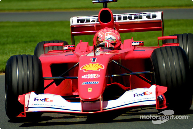 2001 Avustralya GP - Ferrari F2001