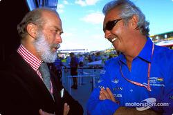 Flavio Briatore talks with Prince Michael of Kent