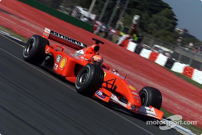 33. Australia 2001, Ferrari F2001