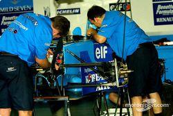 Trabajando en el Benetton