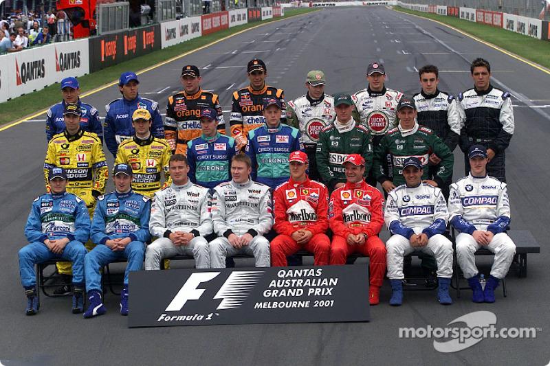 Clase 2001 Fórmula 1