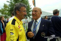 Eddie Jordan and Stirling Moss