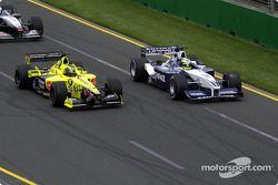 Ralf Schumacher y Heinz-Harald Frentzen