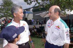 Peter Sauber y amigos de Petronas