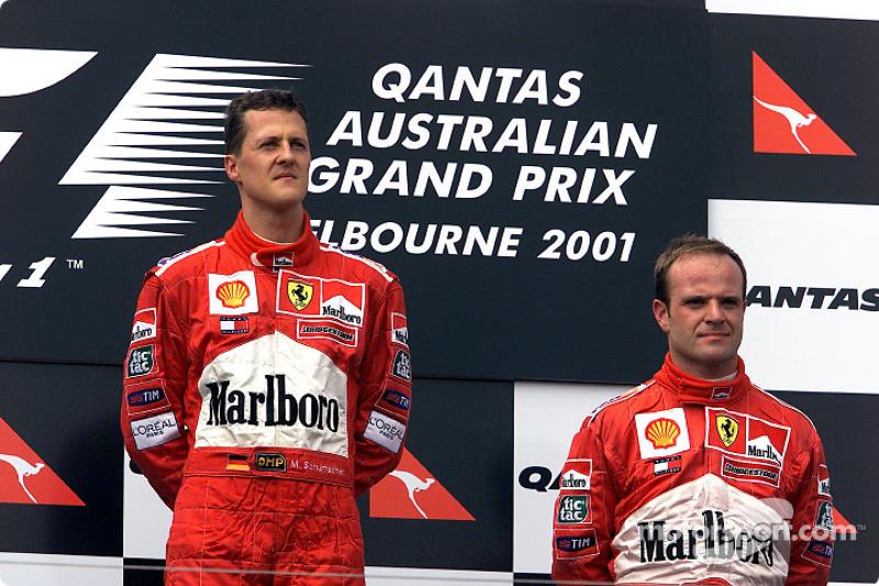 2001 Michael Schumacher, Ferrari