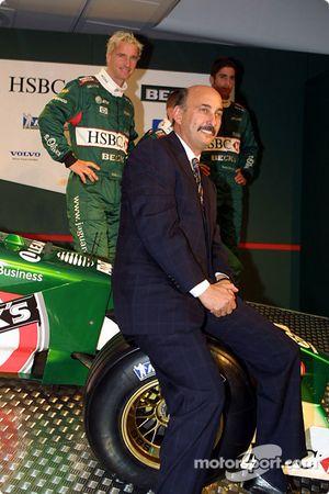 Eddie Irvine, Luciano Burti, Tomas Scheckter y Bobby Rahal