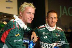 Eddie Irvine y Luciano Burti