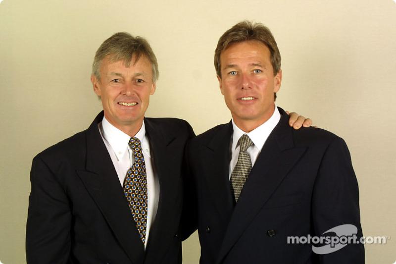 Adrian Reynard and Craig Pollock