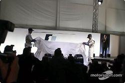 Ralf Schumacher ve Juan Pablo Montoya unveiling FW23