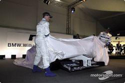 Ralf Schumacher ve Juan Pablo Montoya unveiling FW24