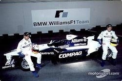 Juan Pablo Montoya et Ralf Schumacher