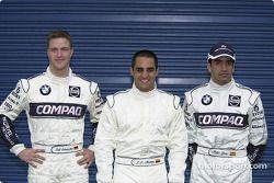 Ralf Schumacher, Juan Pablo Montoya ve Marc Gen��