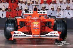 Yeni burun, Ferrari F2001