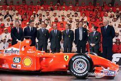 L'équipe et la F2001