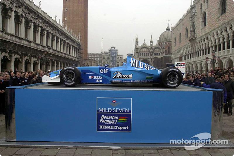 Presentación del B201 en Venecia
