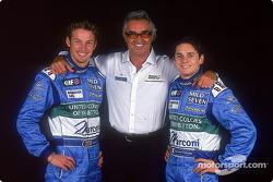 Jenson Button, Flavio Briatore, Giancarlo Fisichella