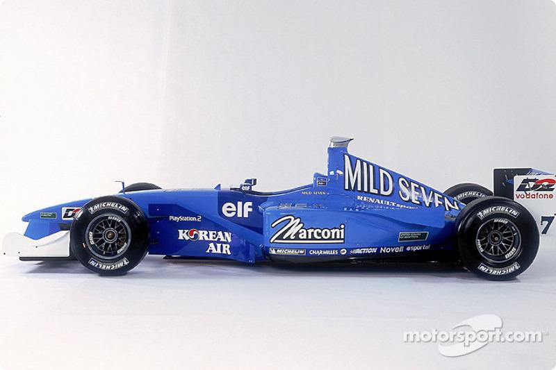El nuevo Benetton B201