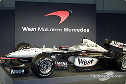 El McLaren Mercedes MP4-16