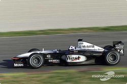 David Coulthard en el circuito de Valencia