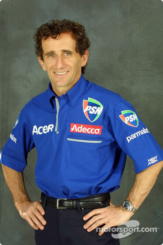 man himself: Alain Prost